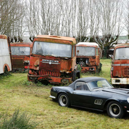 Old Rusty Cars Expected To Sell For 20 Million Cnn Style