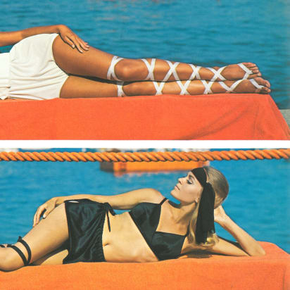 f08393bd97 From dresses to bikinis: 100 years of swimwear - CNN Style