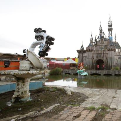 Dismaland Banksy S Grim New Art Theme Park Cnn Style