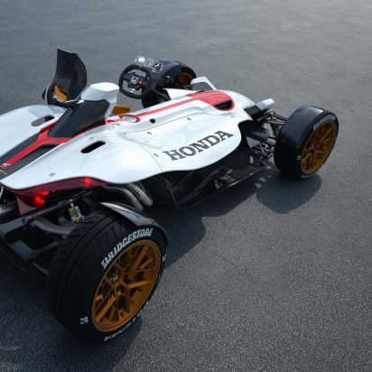 Coming To A Track Near You Honda S New Motorcycle Race Car Hybrid
