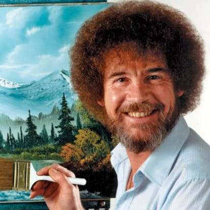 Bob Ross The Tv Painter Is Finally Being Recognized In An