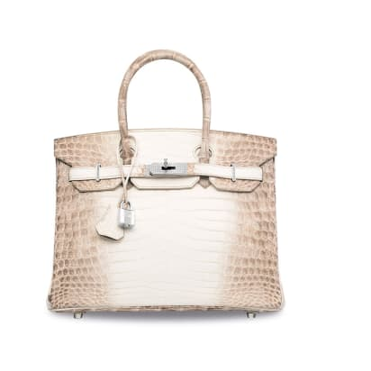 cdb500ebd5 The most expensive handbag ever sold - the Diamond Hermes handbag ...