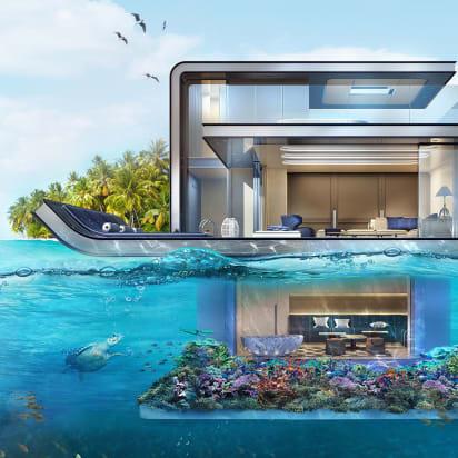 Excellent Next Level Underwater Villas Are Making Waves Cnn Style Download Free Architecture Designs Intelgarnamadebymaigaardcom