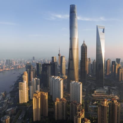 Shanghai Tower In China Has World S Fastest Elevator Cnn Style