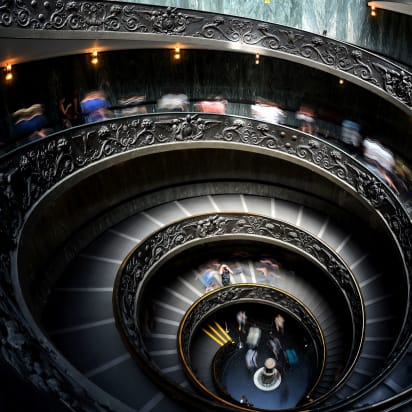 9e3e5041dbcbb Flights of fancy: The world's most sublime spiral staircases