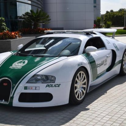 It S Official Dubai Has World Fastest Police Car And Can Go 253 Mph