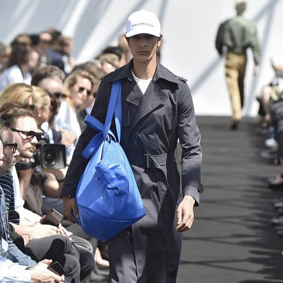 3bc8c6b054a The Balenciaga Ikea-esque bag story isn t new - CNN Style