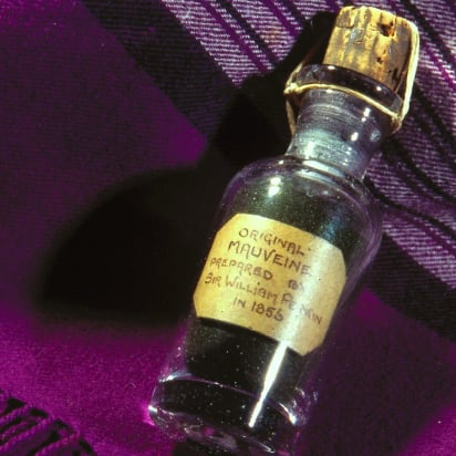 d7c7a8973298d The color purple  How an accidental discovery changed fashion forever