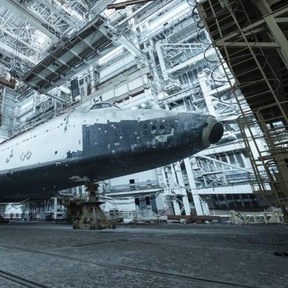 Abandoned Soviet space shuttles rust in Kazakhstan - CNN Style