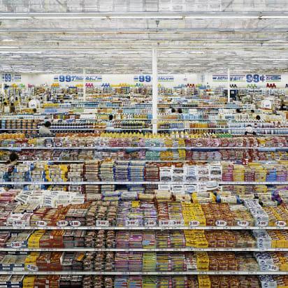 Andreas Gursky 99 Cent II 1999 2009 C Print Diasec 207 X