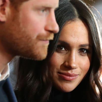 027ddd4599c67a EDINBURGH, SCOTLAND - FEBRUARY 13: Prince Harry and Meghan Markle attend a  reception for