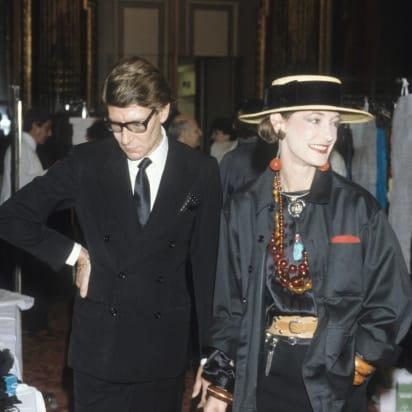 311e8176 Loulou de La Falaise: The fashion muse who changed Yves Saint ...