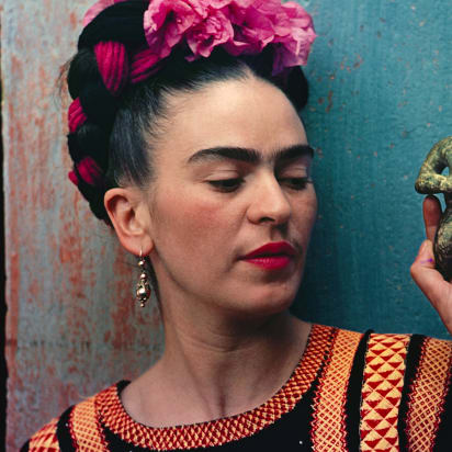 d448cd4c185 Frida Kahlo  the Mexican artist who used fashion to make a powerful ...