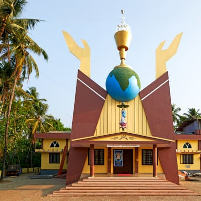 India S Quirky Post Colonial Churches Cnn Style