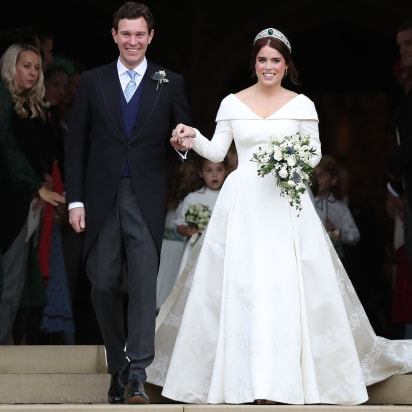 In Photos Princess Eugenie S Royal Wedding Style