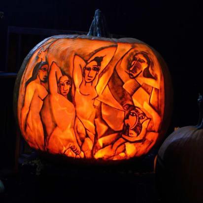Pumpkin Carving Art Maniac Artists Create Intricate Masterpieces Cnn Style