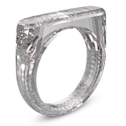 jony ive and marc newson s all diamond ring sells for 256k cnn style