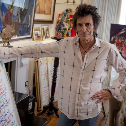 Rolling Stones' Ronnie Wood: Painting is my 'God-given