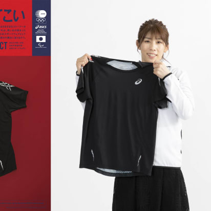 c4df74da6ca Around 30,000 items of clothing will be recycled into Japan's Olympic and  Paralympic Tokyo 2020 uniforms. Credit: Asics