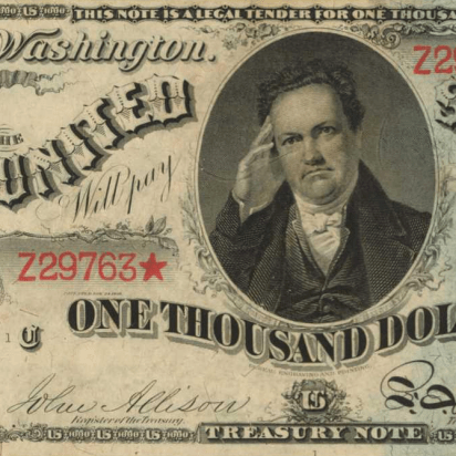 Incredibly rare US bank bills set to sell for $8 million at