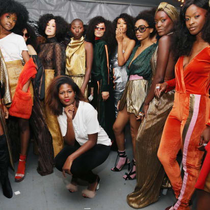 Harlem S Fashion Row Is Opening Doors For Black Designers Cnn Style