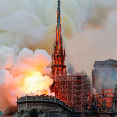 France announces competition to rebuild Notre Dame's spire - CNN Style