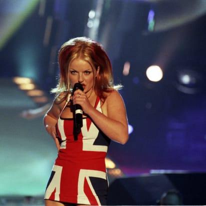 Union Jack Dress  Ginger Spice Girls Costume 90s Union Jack Ladies Fancy Dress