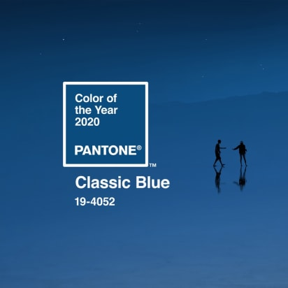 Pantone Unveils Its Color Of The Year For 2020 Classic Blue Cnn Style