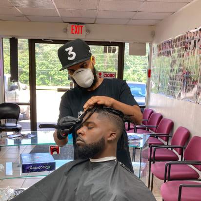 How Coronavirus Is Transforming Hair Salons And Barbershops Cnn