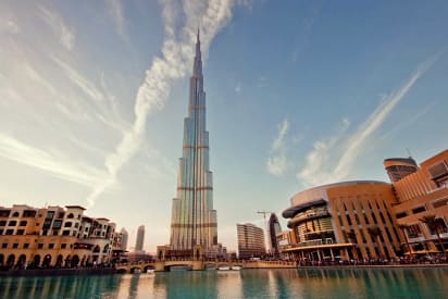 Dubai Creek Tower New Pictures Cnn Style