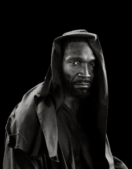 """Levelle 'Black' Tolliver (Judas)"" from the series Passion Play (2012--13) by Deborah Luster"