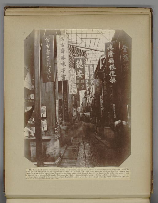The long exposure times of early cameras made it difficult to capture street scenes.