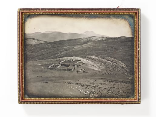 One of the earliest known photographs from South America.