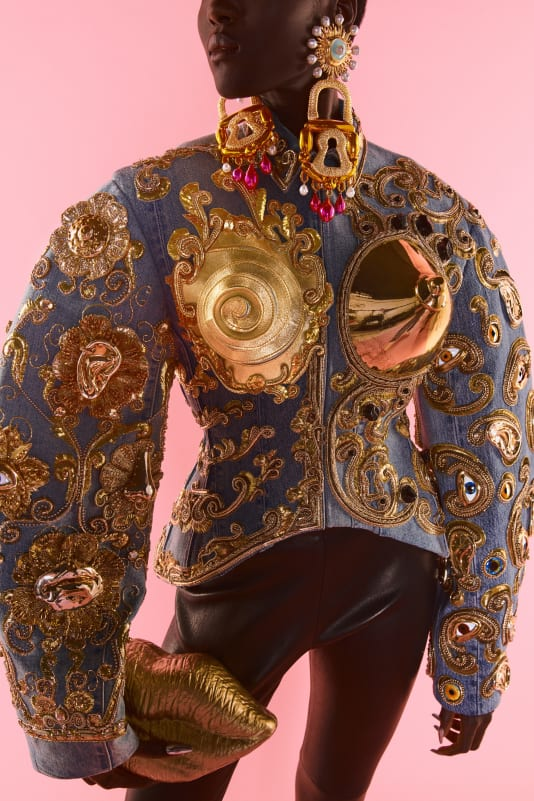Schiaparelli haute couture Autumn-Winter 2022.