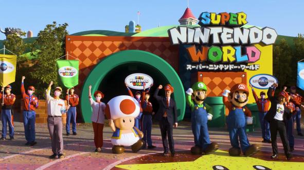 Japan Super nintendo world open