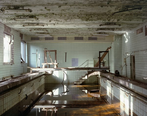 McMillan's images to the Chernobyl Exclusion Zone reveal eerily abandoned buildings.