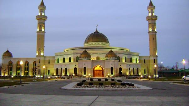 The Design Of Islamic Center America In Dearborn Michigan Is Distinct