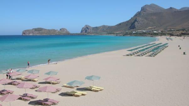 Falassarna Beach Crete Greece