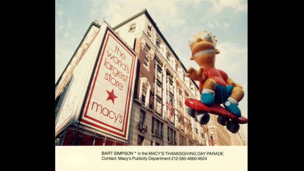 17 macy's parade balloons RESTRICTED