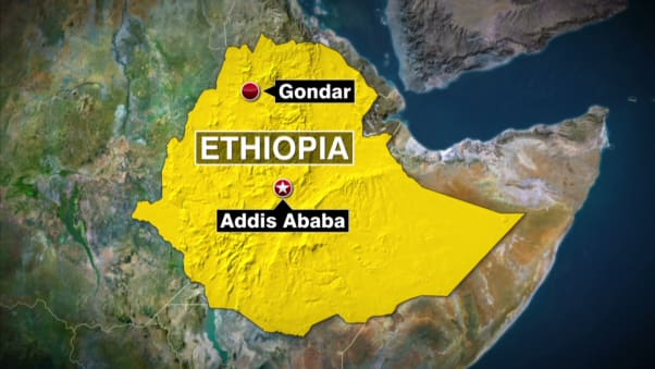 Holy Water Washes Away Sins At Ethiopias Timket Festival CNN Travel - Gondar map