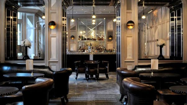 Donu0027t Be Fooled By Mirrored Ceilings And White Marble Floors. The  Connaughtu0027s Bar