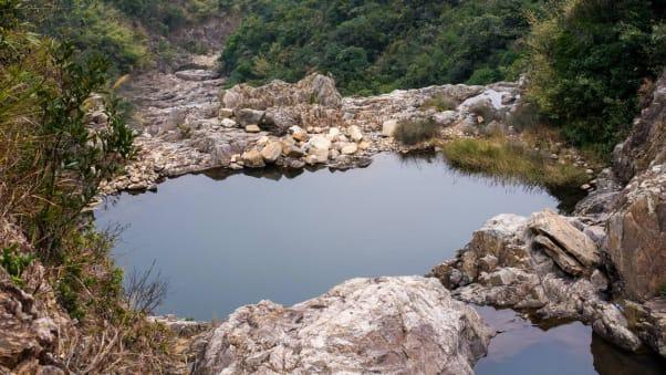 infinity pool lantau. Getting To The Natural Pool At Sheung Luk Requires A Bit Of Effort. Infinity Lantau