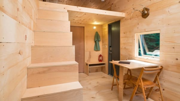 getaways tiny houses emphasize simplicity company founders encourage guests to avoid overplanning - Tiny Dwellings