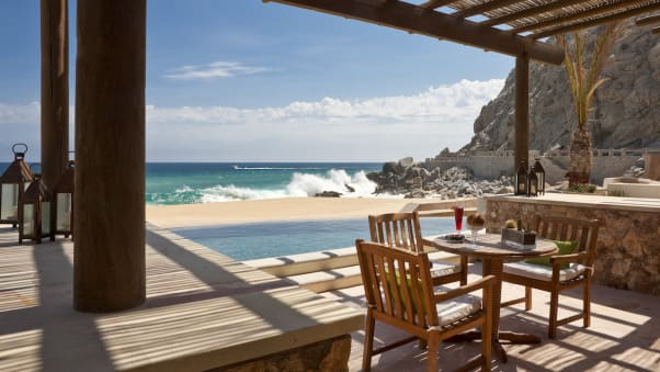 Some Of The Suites At Resort Pedregal Open Right Onto Water