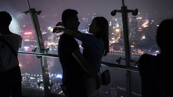 Inside The Oriental Pearl Tower In Shanghai