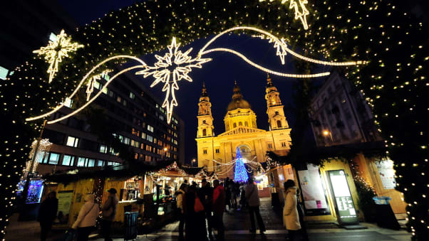 budapest christmas fair and winter festival hungary