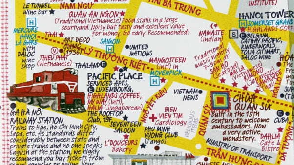 Hidden Hanoi: Map creators share city\'s secret spots | CNN Travel