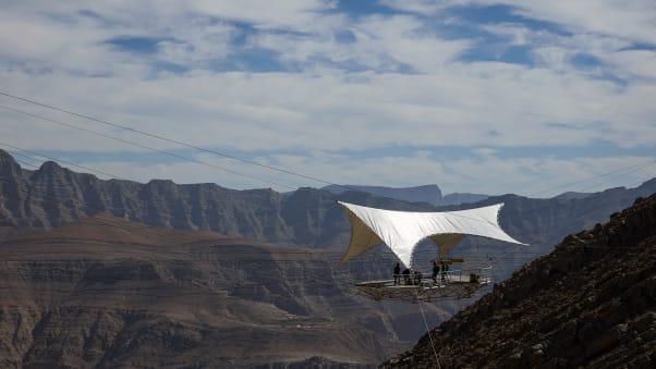 Worlds longest zip line coming to ras al khaimah uae cnn travel zip wire rak 2 solutioingenieria Images