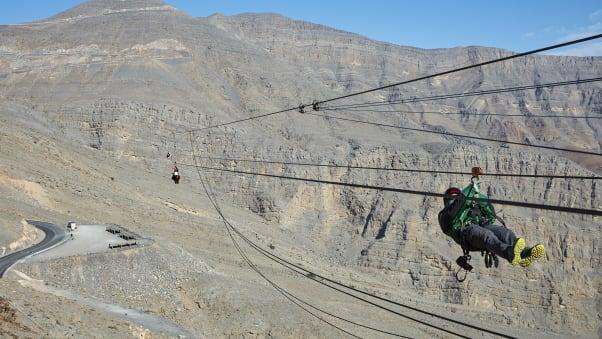 Worlds longest zip line coming to ras al khaimah uae cnn travel zip wire rak 3 solutioingenieria Images