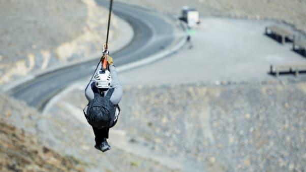 Worlds longest zip line coming to ras al khaimah uae cnn travel zip wire rak 7 solutioingenieria Images